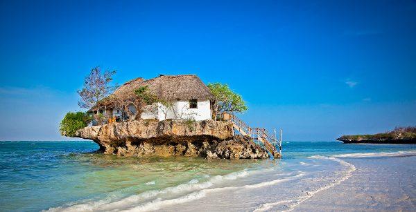 Restaurant in the Indian Ocean Zanzibar Serengeti Zanzibar