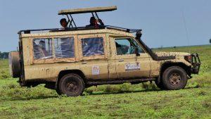 Africa Family Vacation Game Drive at Serengeti