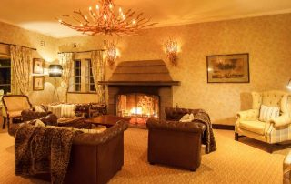 Aberdare Country Club Heated Lounge