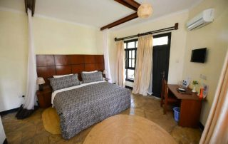 Double Bedroom at Arusha Planet Lodge