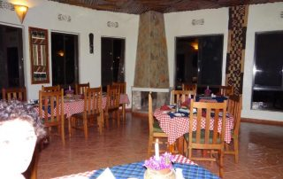 Restaurant at Bougainvillea Safari Lodge
