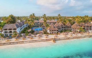 Aerial View at DoubleTree Resort by Hilton Hotel Zanzibar