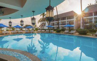 Sundeck at DoubleTree Resort by Hilton Hotel Zanzibar