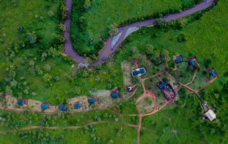 Embalakai Authentic Camps Aerial View