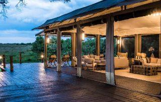 Main Lounge at Entim Mara Camp