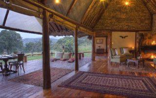 Family Villa Lounge at Saruni Mara