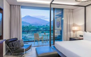 Gran Melia Arusha Bedroom With Mount Meru View