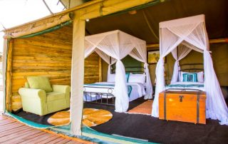 Heritage Camps and Lodges Twin Beds
