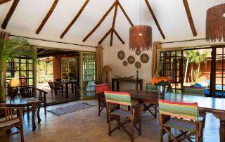 Kili Villa Dining Room