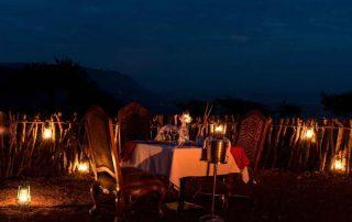Lake Manyara Kilimamoja Lodge boma dinner