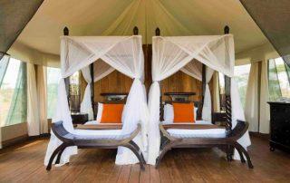 Twin Bedroom Setup