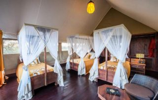 Triple Bedroom of the Lodge