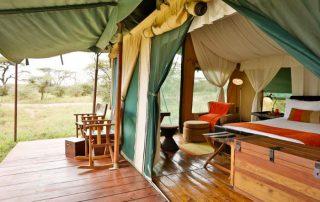 Lemala Ndutu Camp Exterior Balcony