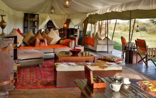 Lounge at Lemala Ndutu Camp