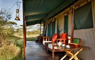 Lemala Mara Camp Guest Terrace