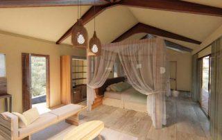Lemala Mpingo Ridge Room interior