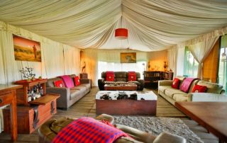 Lemala Ngorongoro Tented Camp Lounge