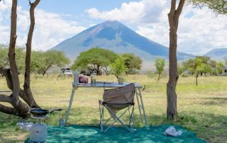Camping Ground at Maasai Giraffe Eco Lodge