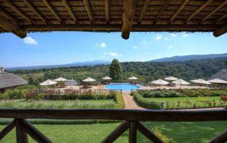 Amazing Natural View at Neptune Ngorongoro Luxury Lodge