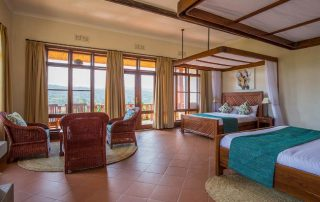 Ngorongoro Coffee Lodge Room Settup