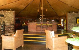 Octagon Lodge bar