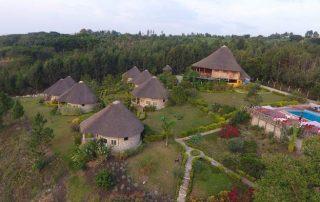 Parkview Safari Lodge Aerial View