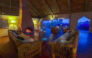 Rhotia Lounge by Night