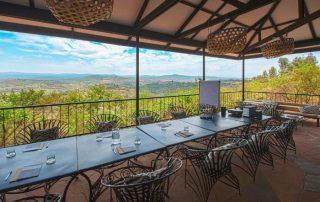 Rhotia Valley Tented Lodge Restaurant With a View