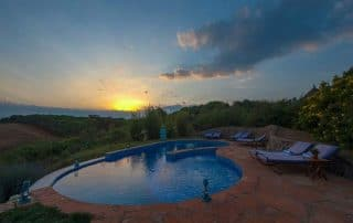 Sunset View at Rhotia Valley Tented Lodge