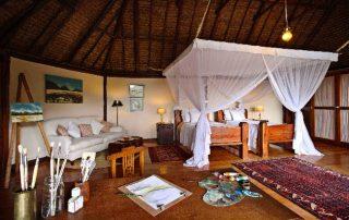 Saruni Mara Beds arrangement
