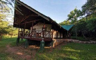 Tent Exterior at Sentrim Mara Lodge