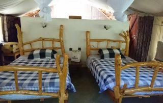 Sentrim Mara Lodge Twin Bedroom