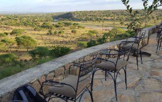 Tarangire Safari Lodge Terrace View
