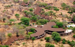 Upper View of Tarangire Sopa Lodge