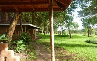 Garden at Ngorongoro Farm House