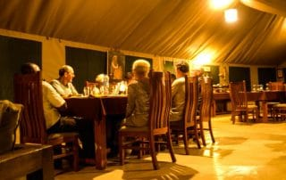 Dinner at Osinon Camps and Lodges