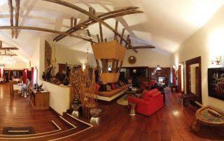 A Lounge at Escarpment Luxury Lodge