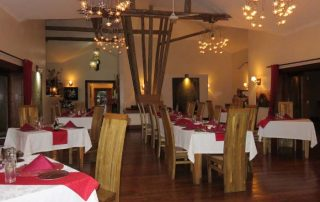 Escarpment Luxury Lodge Restaurant
