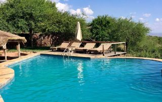 Swimming Pool at Escarpment Luxury Lodge