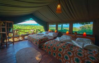 Family Room at Rhotia Valley Tented Lodge