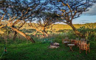 Ang'ata Camp Ngorongoro Exterior Fireplace
