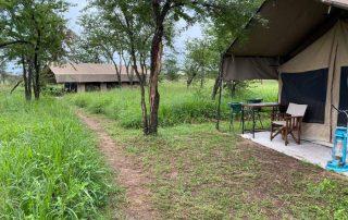 Kati Kati Tented Camp Natural pathway