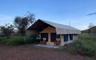 Guest Tent Front Face