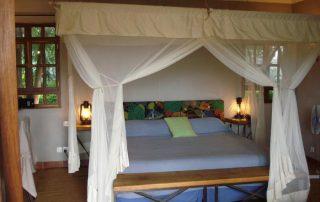 King Bed at Ngorongoro Farm House