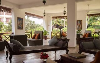 Lounge at DoubleTree Resort by Hilton Hotel Zanzibar