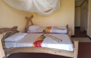 Twin Bedroom at Maasai Giraffe