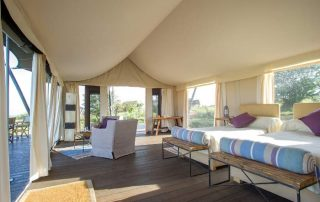 Mara Mara Tented Lodge Guest Tent Interior