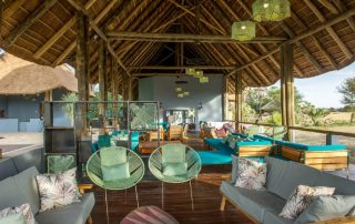 Maramboi Tented Lodge Lounge