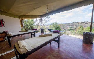 Massage Room Mbalageti Safari Camp