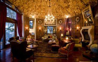 Ngorongoro Crater Lodge Lounge